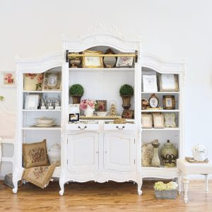 Juliette Triple French Bookcase