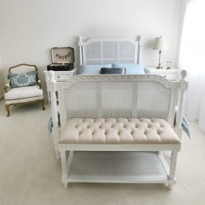 Provence Darcel Caned Bed