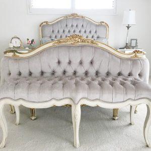 Sofia tufted bed
