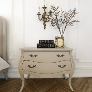 French Clovis Side Table