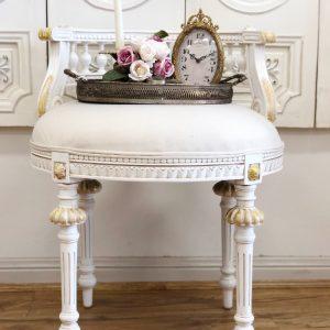 Massey vanity stool