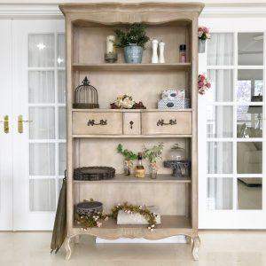 Farmhouse Chic Bookcase