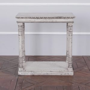 Louise Stone Grey Side Table