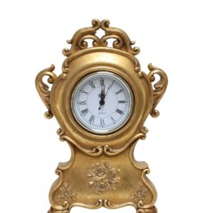 Rosie Table Clock Gold