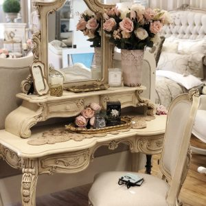 Tempeste Mirrored Dressing Table