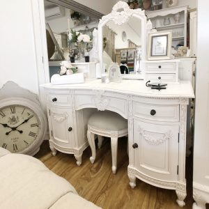 Ponticus French Dressing Table and Stool