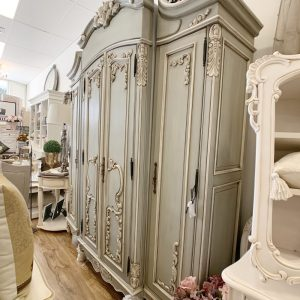 Sharniece French Grand Armoire