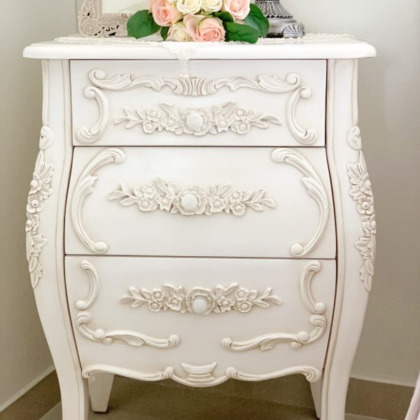 French Provincial Furniture I Joutel French Bedside Table