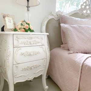 Joutel French Bedside Table