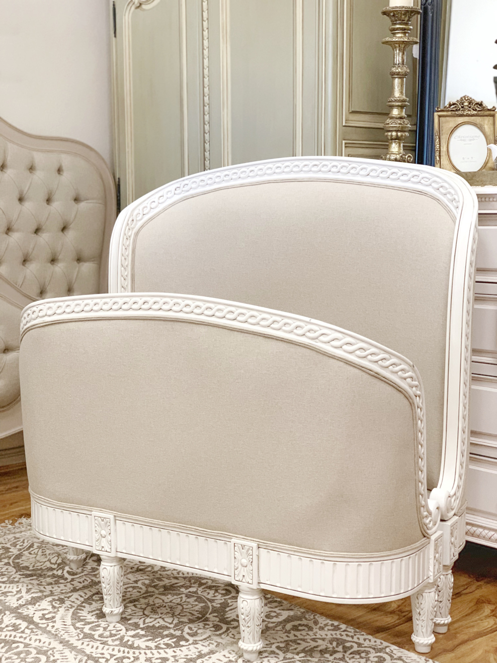 Inverness Upholstered Bed